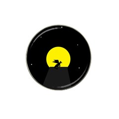 Moon And Dragon Dragon Sky Dragon Hat Clip Ball Marker