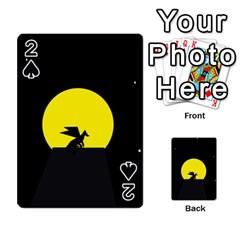 Moon And Dragon Dragon Sky Dragon Playing Cards 54 Designs