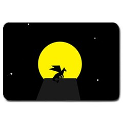 Moon And Dragon Dragon Sky Dragon Large Doormat