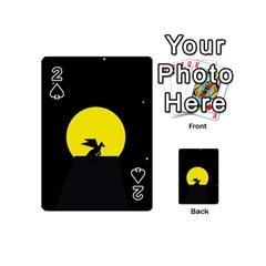 Moon And Dragon Dragon Sky Dragon Playing Cards 54 (Mini)