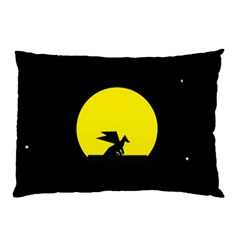Moon And Dragon Dragon Sky Dragon Pillow Case (Two Sides)