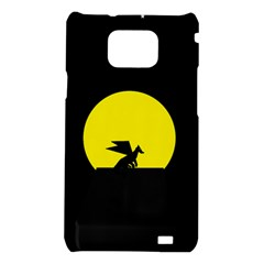 Moon And Dragon Dragon Sky Dragon Samsung Galaxy S2 i9100 Hardshell Case