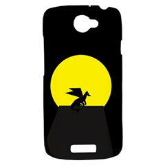 Moon And Dragon Dragon Sky Dragon HTC One S Hardshell Case