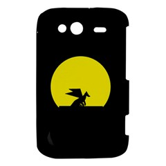 Moon And Dragon Dragon Sky Dragon HTC Wildfire S A510e Hardshell Case