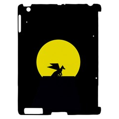 Moon And Dragon Dragon Sky Dragon Apple iPad 2 Hardshell Case (Compatible with Smart Cover)