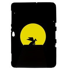 Moon And Dragon Dragon Sky Dragon Samsung Galaxy Tab 8.9  P7300 Hardshell Case