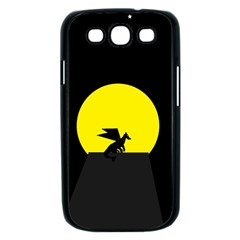 Moon And Dragon Dragon Sky Dragon Samsung Galaxy S III Case (Black)