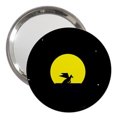 Moon And Dragon Dragon Sky Dragon 3  Handbag Mirrors