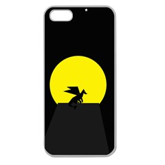 Moon And Dragon Dragon Sky Dragon Apple Seamless iPhone 5 Case (Clear)