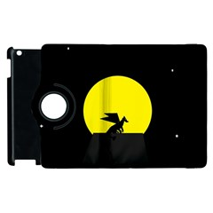 Moon And Dragon Dragon Sky Dragon Apple iPad 3/4 Flip 360 Case