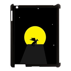 Moon And Dragon Dragon Sky Dragon Apple iPad 3/4 Case (Black)
