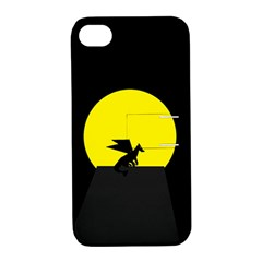 Moon And Dragon Dragon Sky Dragon Apple iPhone 4/4S Hardshell Case with Stand
