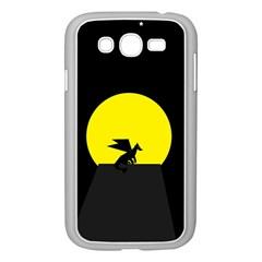 Moon And Dragon Dragon Sky Dragon Samsung Galaxy Grand DUOS I9082 Case (White)