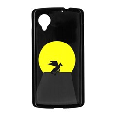 Moon And Dragon Dragon Sky Dragon Nexus 5 Case (Black)