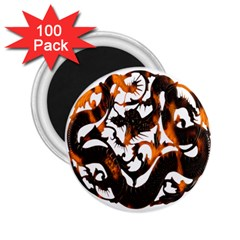 Ornament Dragons Chinese Art 2.25  Magnets (100 pack)