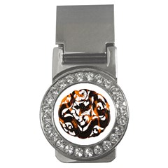 Ornament Dragons Chinese Art Money Clips (CZ)