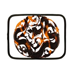 Ornament Dragons Chinese Art Netbook Case (Small)