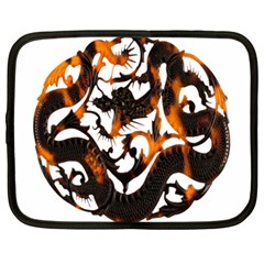Ornament Dragons Chinese Art Netbook Case (Large)