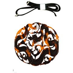 Ornament Dragons Chinese Art Shoulder Sling Bags