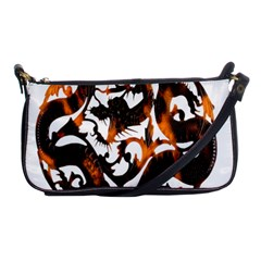 Ornament Dragons Chinese Art Shoulder Clutch Bags