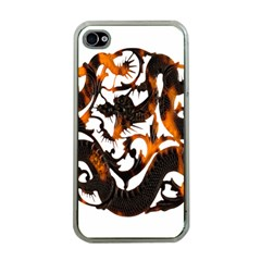 Ornament Dragons Chinese Art Apple iPhone 4 Case (Clear)