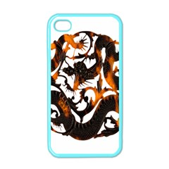 Ornament Dragons Chinese Art Apple iPhone 4 Case (Color)