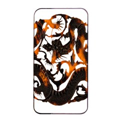 Ornament Dragons Chinese Art Apple iPhone 4/4s Seamless Case (Black)