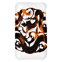Ornament Dragons Chinese Art Apple iPhone 3G/3GS Hardshell Case