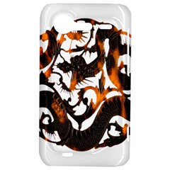 Ornament Dragons Chinese Art HTC Incredible S Hardshell Case