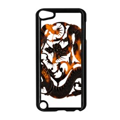Ornament Dragons Chinese Art Apple iPod Touch 5 Case (Black)
