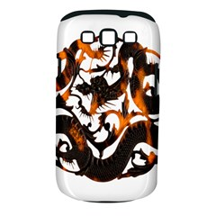 Ornament Dragons Chinese Art Samsung Galaxy S III Classic Hardshell Case (PC+Silicone)
