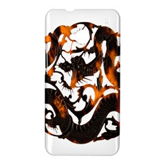 Ornament Dragons Chinese Art HTC One M7 Hardshell Case