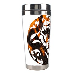 Ornament Dragons Chinese Art Stainless Steel Travel Tumblers