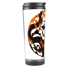 Ornament Dragons Chinese Art Travel Tumbler