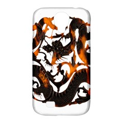 Ornament Dragons Chinese Art Samsung Galaxy S4 Classic Hardshell Case (PC+Silicone)