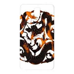 Ornament Dragons Chinese Art Samsung Galaxy Note 3 N9005 Hardshell Back Case