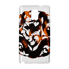 Ornament Dragons Chinese Art Samsung Galaxy Note 4 Hardshell Case