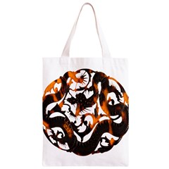 Ornament Dragons Chinese Art Classic Light Tote Bag
