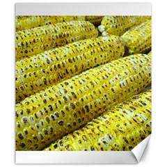 Corn Grilled Corn Cob Maize Cob Canvas 20  x 24