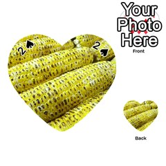 Corn Grilled Corn Cob Maize Cob Playing Cards 54 (Heart)