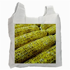 Corn Grilled Corn Cob Maize Cob Recycle Bag (One Side)
