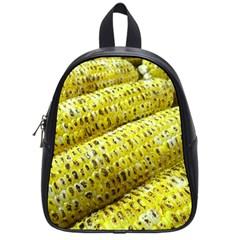 Corn Grilled Corn Cob Maize Cob School Bags (Small)