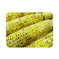 Corn Grilled Corn Cob Maize Cob Double Sided Flano Blanket (Mini)