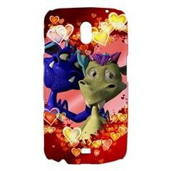 Ove Hearts Cute Valentine Dragon Samsung Galaxy Nexus i9250 Hardshell Case