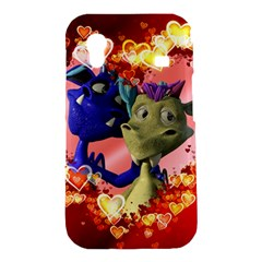 Ove Hearts Cute Valentine Dragon Samsung Galaxy Ace S5830 Hardshell Case