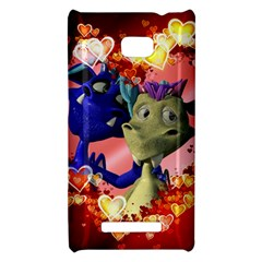 Ove Hearts Cute Valentine Dragon HTC 8X