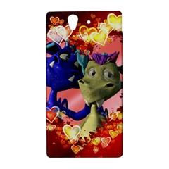 Ove Hearts Cute Valentine Dragon Sony Xperia Z