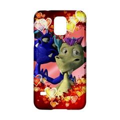 Ove Hearts Cute Valentine Dragon Samsung Galaxy S5 Hardshell Case