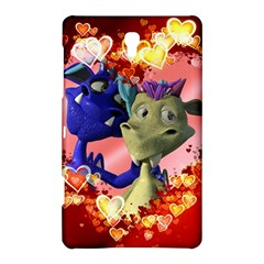Ove Hearts Cute Valentine Dragon Samsung Galaxy Tab S (8.4 ) Hardshell Case