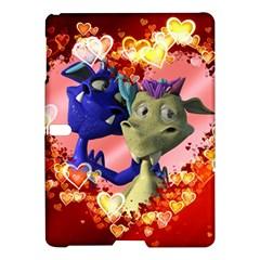 Ove Hearts Cute Valentine Dragon Samsung Galaxy Tab S (10.5 ) Hardshell Case
